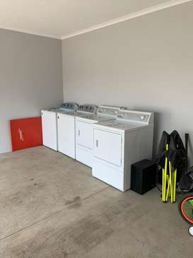 Driers ans Washers for a Laundry Business