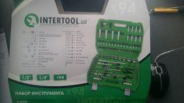 """Набор инструментов 1/2"""" & 1/4"""" 94ед INTERTOOL ET-6094SP"""