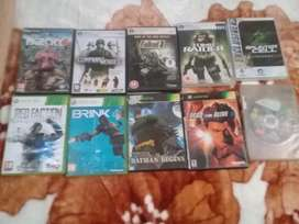 I'm selling all these game r300 or swop fr terra bite harddrive