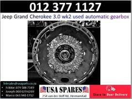 Jeep Grand Cherokee 3.0 WK2* 2011-19 automatic gearbox for sale