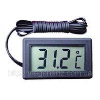 Цифровой термометр градусник с LCD выносной датчик,новый.