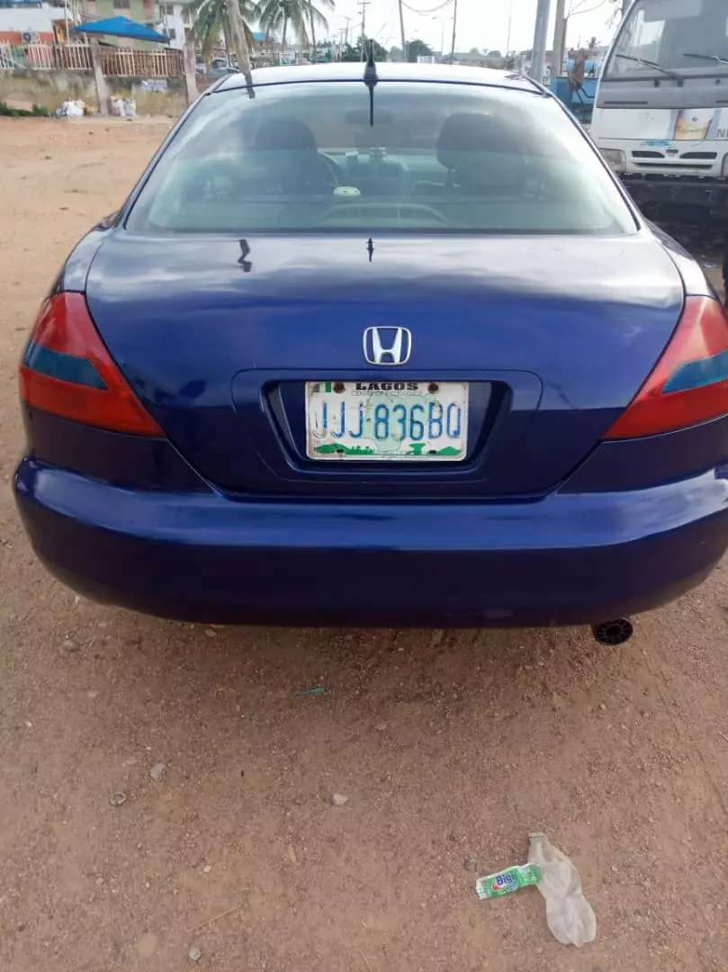 Honda Accord, fuel 0