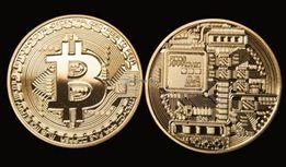 Монета сувенир Bitcoin(Биткоин, BTC) Золото