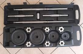 50kg weight set with trolley case