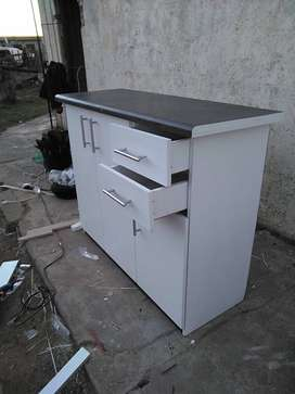 All built-in cabinets