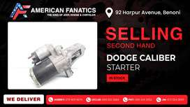 Selling second hand Dodge Caliber Starters