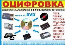 Оцифровка видео и звука с разных носителей