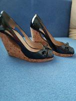 Туфли Италия 37.5-38 кожа
