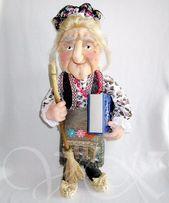 Кукла Баба Яга. Ручная работа.