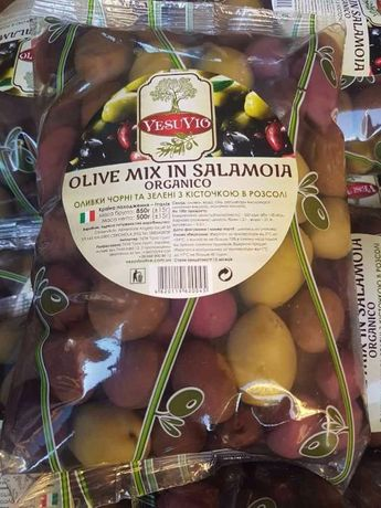 Оливки МІX в пакетах 500гр(опт) Львов - изображение 6