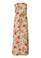 Длинное летнее платье в цветочек размер m новое