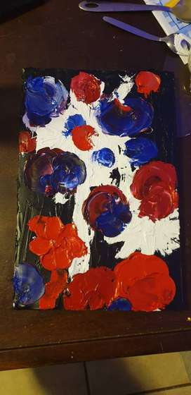 Abstract art oil painting for sale