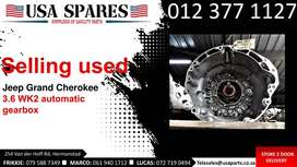 Jeep Grand Cherokee 3.6 WK2* 2011-19 used auto gearbox for sale
