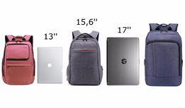 Качественные рюкзаки для ноутбука с диагональю: 13, 14, 15,6, 17, 17,3