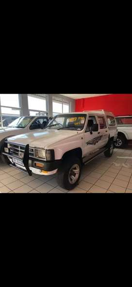 1989 Toyota Hilux double cab