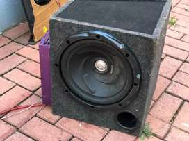 Sound system, subwoofer, amps and 6x9s
