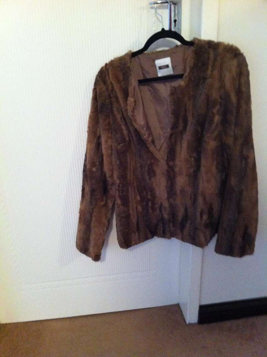 Women's fur look jacket - PRICE REDUCED BY 10% 0