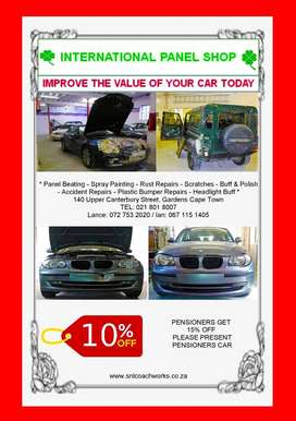 Quotes are FREE! An opportunity to know the damage worth of your car