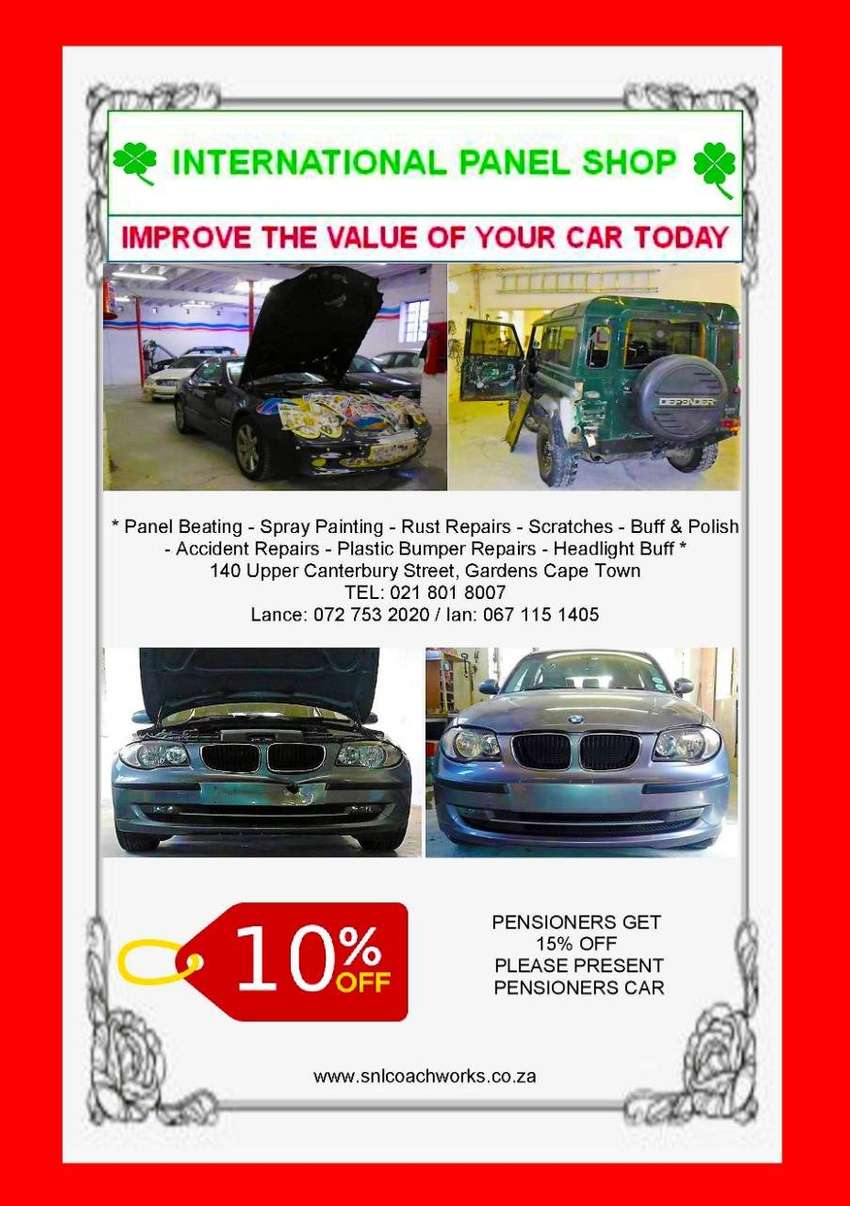 Quotes are FREE! An opportunity to know the damage worth of your car 0