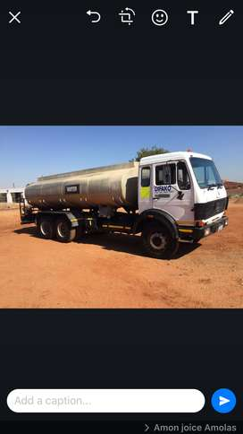 Mercedes Water Tanker