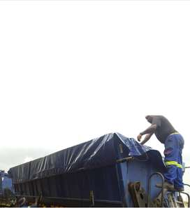 2 X 34 Ton side tipper trailers for rent