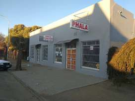Kroonstad, Commercial Building. Furniture and Pawnshop