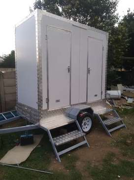 Mobile VIP toilets ,Mobile food trailers and Mobile fridge