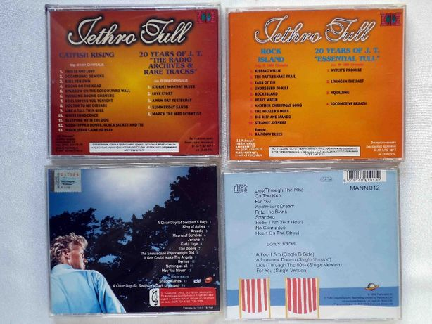 Jethro Tull,Manfred Mann's E.B.,David Knopfler (4 диска CD) Могилев-Подольский - изображение 2