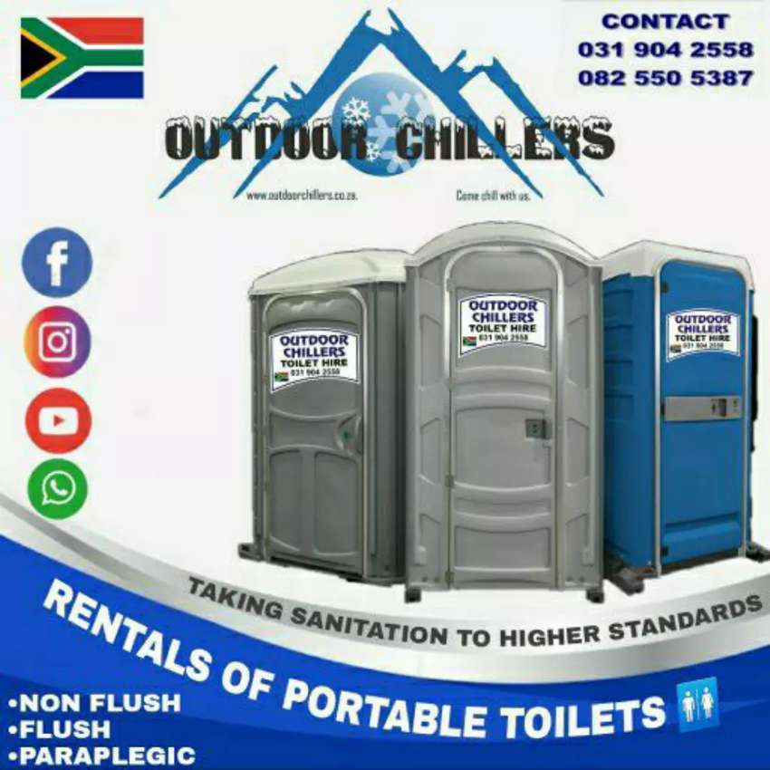 Sunbow toilet rentals sunbow marquee and chair hire