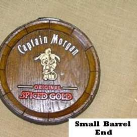 Captain Morgan Spiced Gold Barrel Ends Brand New Products.
