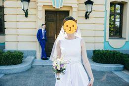 Очень нежное и элегантное свадебное платье