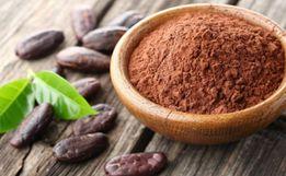 Какао порошок темный, светлый алкализированный Малайзия
