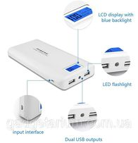 Портативная батарея, Power Bank Pineng PN-920 40000mah 2 USB LCD