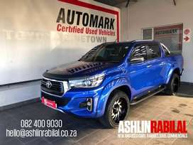 2019 Toyota Hilux 2.8 GD-6 RB Auto Raider Double Cab Bakkie for sale