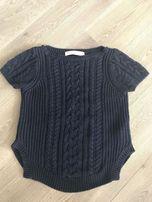 Sweterek z krótkim rękawem ZARA KNIT