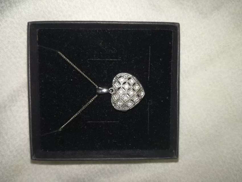 Sterling silver necklace 0