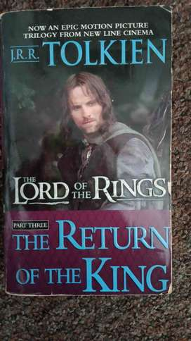 Lord of the Rings The return of the King - Tolkin