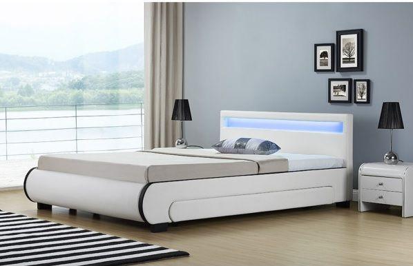 Кровать кожаная Bilbao 180х200 см. с LED подсветкой! Германия! Львов - изображение 3