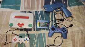 Harwa gaming console with extras
