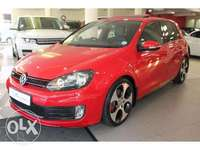 Image of golf6 gti red trade inns welcome