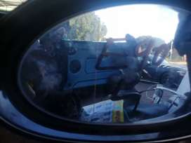 E90 side mirror glass only