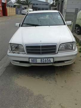 Mercedes w202 c250 diesel for sale. Price negotiable