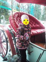 Красивейшая зимняя куртка для девочки L.O.G.G. р.116