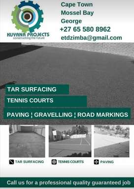 Tar | Paving | Tennis Courts