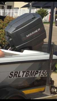 Image of Mariner outboard motor 90hp