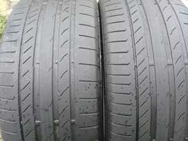 2 X 275/50/20 continental continental tyres for sell