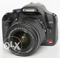 Зеркальный фотоаппарат - 15 000 рублей.