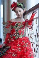 Дизайнерское нарядное бальное платье, продажа или прокат