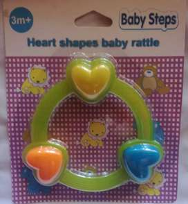 Brand New Unisex Baby Steps Rattle