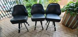 High back slot machine gaming chairs. Comfortable and sturdy